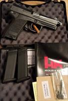 Heckler & Koch USP Tactical, .40 S&W Pistol