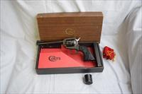 COLT NEW FRONTEIR SINGLE ACTION .22/.22MAGNUM REVOLVER