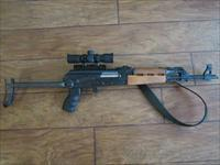 Yugo M70AB2 AK Style Semi Auto Rifle, 7.62x39, with Underfolder Stock, Grenade Sight