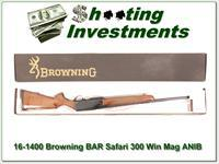 Browning BAR Safari 300 WIN ANIB!
