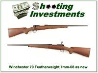 Winchester 70 Featherweight New Haven 7mm-08 as new!
