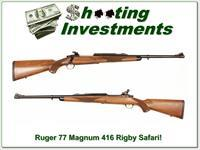 Ruger 77 Magnum in 416 Rigby Exc Cond!