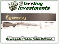 Browning A-bolt Stainless Stalker 30-06 NIB!