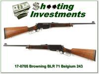 Browning BLR Belgium hard to find 243!