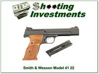 Smith & Wesson Model 41 5.5in Exc Cond