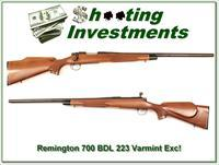 Remington 700 BDL Varmint Special 223 Rem near new