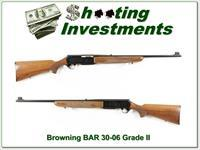 Browning BAR Grade II 68 Belgium 30-06 collector!