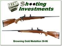 Browning A-Bolt GOLD MEDALLION 30-06