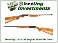 Browning 22 Auto takedown 68 Belgium Blond!