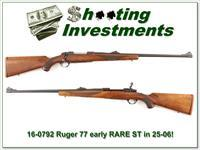 Ruger 77 ST rare early 25-06 collector condition!