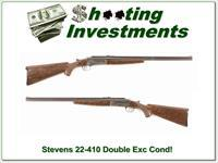Stevens 22-410 .22-.410 Collector Condition!