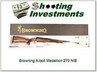 Browning A-bolt II Medallion 270 Win last ones!