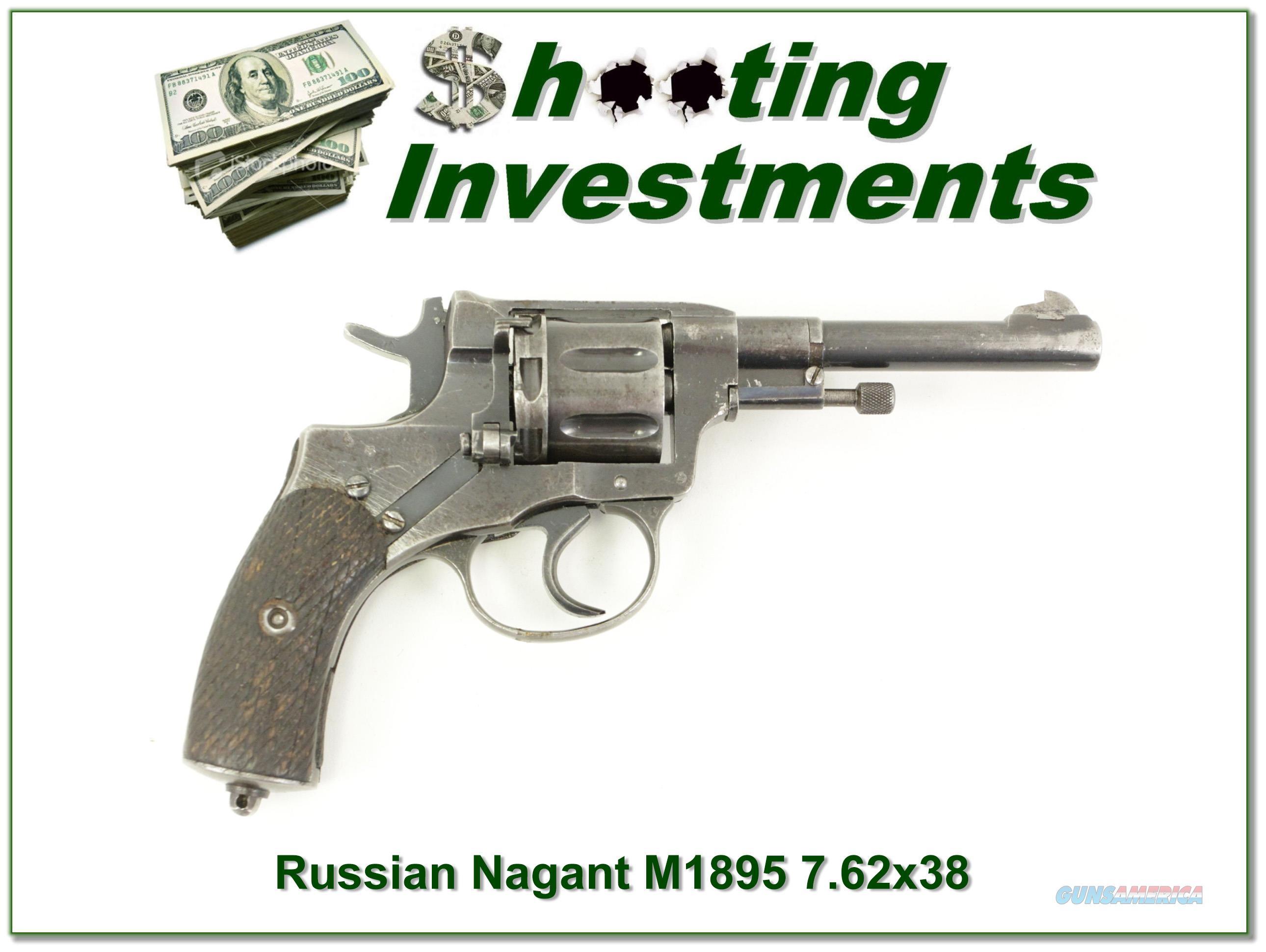 Russian Nagant M1895 in 7 62×38mmR