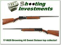 Browning Sweets Sixteen 56 Belgium top collector!