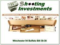 Winchester 94 Buffalo Bill 30-30 26in rifle NIB