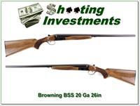 Browning BSS 20 Gauge made in 1975 in Exc Cond!