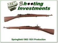 Springfield Armory 1903 30-06 Exc Cond