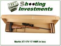 Marlin 17V 17 HMR unfired in box with scope