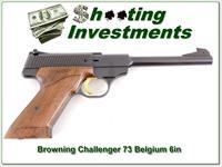 Browning Challenger 1973 Belgium 6in 22LR Exc Cond!