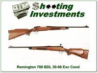 Remington 700 BDL factory Engraved 30-06 Exc Cond!