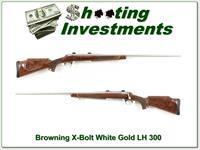 Browning X-Bolt LH White Gold Medallion in 300 Win!