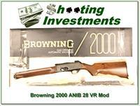Browning 2000 12 Gauge 1974 28in VR NIB!