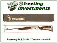 Browning BAR Custom Shop Grade D NIB!