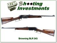 Browning BLR Lightweight 243 XX Wood!