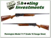 Remington Model 11 F Grade RARE 16 Ga SKEET!