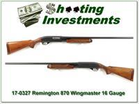 Remington 870 Wingmaster 16 Gauge 28in Modified