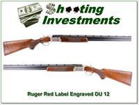 Ruger Red Label 1984 DU Engraved 12 Ga 28in