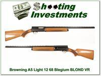 Browning A5 Light 12 68 Belgium Blond 28in VR Mod