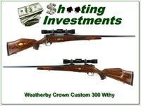 Weatherby Mark V Crown Custom German 300 Wthy