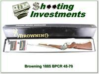 Browning 1885 45-70 BPCR 30in, case colored in box
