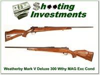 Weatherby Mark V Deluxe 300 near new