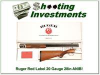 Ruger Red Label 20 Gauge 28in in box!