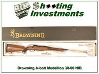 Browning A-bolt II Medallion 30-06 last of the new ones!