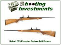 Sako L579 Forester early Bofers Steel Deluxe 243