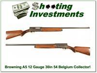 Browning A5 1954 Belgium 12 Gauge Collector Condition!