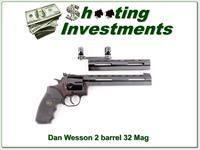 Dan Wesson IHMSA 2 barrel set in 32 Magnum 32 H&R Ma