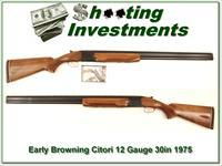 Browning Citori 12 Guage early 1975 Long Tang Exc Cond!