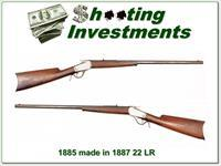 Winchester 1885 22 LR made in 1887!