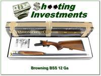 Browning BSS 12 Gauge 28in barrels in box!