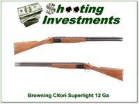 Browning Citori Superlight 28in invector Exc Cond