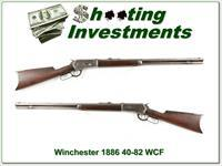 Winchester 1886 made in 1888 rare 40-82 WCF