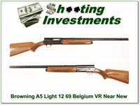 Browning A5 Light 12 69 Belgium 28in VR Mod near new!