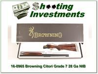 Browning Citori Grade 7 28 Gauge 28in NIB!