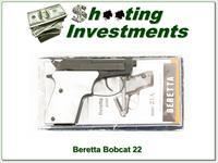 Beretta Bobcat 22LR in box pear grips