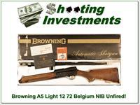Browning A5 Light 12 NIB Unfired and perfect!