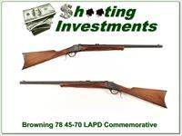 Browning Model 78 45-70 LAPD Commemorative!